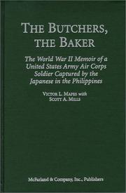 Cover of: The butchers, the baker