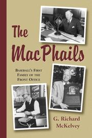 Cover of: The MacPhails  | G. Richard McKelvey