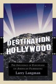 Cover of: Destination Hollywood