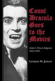 Cover of: Count Dracula goes to the movies