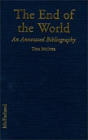 Cover of: The end of the world