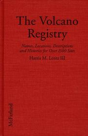 Cover of: The volcano registry