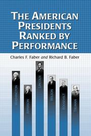 Cover of: The American presidents ranked by performance