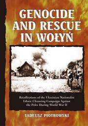 Cover of: Genocide and Rescue in Wolyn