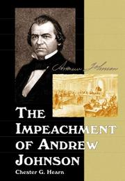 Cover of: Impeachment of Andrew Johnson