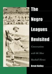 Cover of: The Negro Leagues Revisited