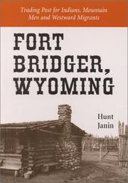 Cover of: Fort Bridger, Wyoming