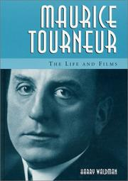 Cover of: Maurice Tourneur | Waldman, Harry.