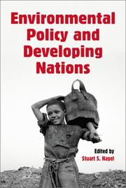 Cover of: Environmental Policy and Developing Nations