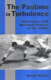 Cover of: The Pastime in Turbulence