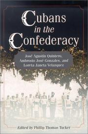Cover of: Cubans in the Confederacy