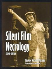 Cover of: Silent film necrology