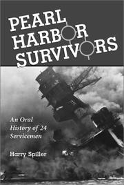 Cover of: Pearl Harbor survivors | Harry Spiller