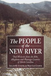 Cover of: The people of the New River