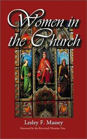 Cover of: Women in the church | Lesly F. Massey