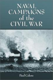 Cover of: Naval campaigns of the Civil War