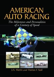 Cover of: American Auto Racing | James A. Martin