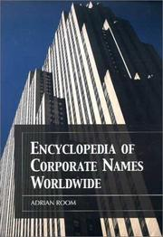 Cover of: Encyclopedia of Corporate Names Worldwide