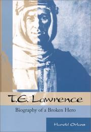 Cover of: T.E. Lawrence | Orlans, Harold