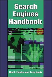 Cover of: Search Engines Handbook | Ned L. Fielden
