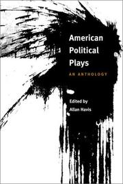 Cover of: American Political Plays