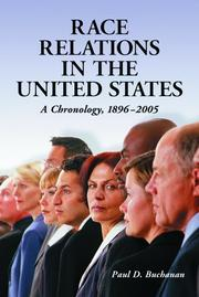 Cover of: Race relations in the United States