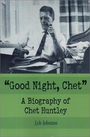 "Cover of: ""Good night, Chet"""