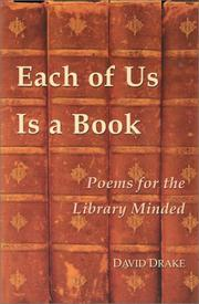Cover of: Each of us is a book by Drake, David