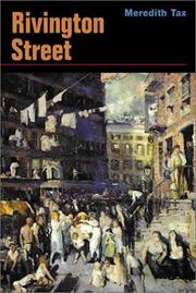 Cover of: Rivington Street