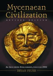 Cover of: Mycenaean civilization