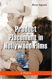 Product Placement in Hollywood Films