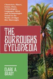 Cover of: The Burroughs Encyclopaedia