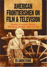 Cover of: American frontiersmen on film and television