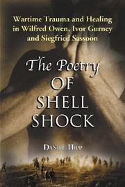 Cover of: The poetry of shell shock | Daniel W. Hipp