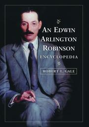 Cover of: An Edwin Arlington Robinson encyclopedia
