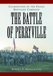 Cover of: Battle of Perryville, 1862 | Robert P. Broadwater