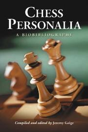 Cover of: Chess personalia