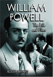 Cover of: William Powell