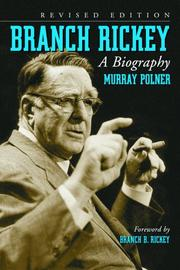 Cover of: Branch Rickey