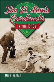 Cover of: The St. Louis Cardinals in the 1940s