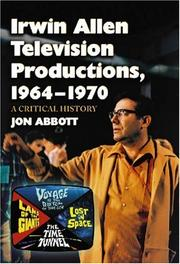 Cover of: Irwin Allen Television Productions, 1964-1970 | Jon Abbott