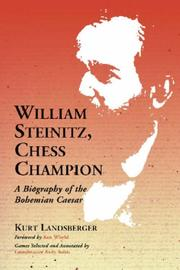 Cover of: William Steinitz, Chess Champion