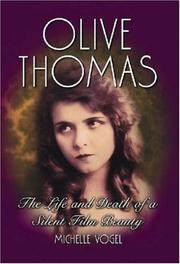 Cover of: Olive Thomas | Michelle Vogel