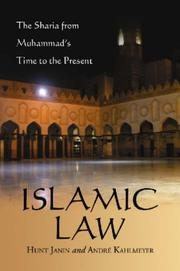 Cover of: Islamic law