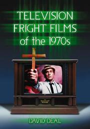 Cover of: Television Fright Films of the 1970