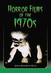 Cover of: Horror Films of the 1970s | John Kenneth Muir