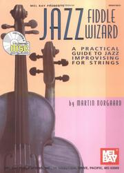 Cover of: Mel Bay Jazz Fiddle Wizard | Martin Norgaard