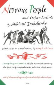 Nervous people, and other satires by Mikhail Zoshchenko