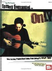Cover of: Mel Bay Tommy Emmanuel |