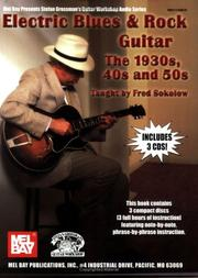 Cover of: Mel Bay Electric Blues & Rock Guitar-The 1930